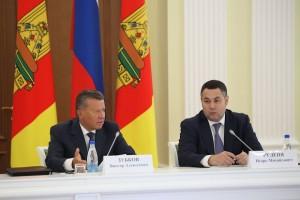 Виктор Зубков и Игорь Руденя