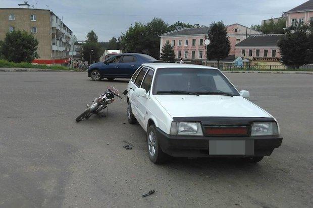 ДТП_Ржев-мопед