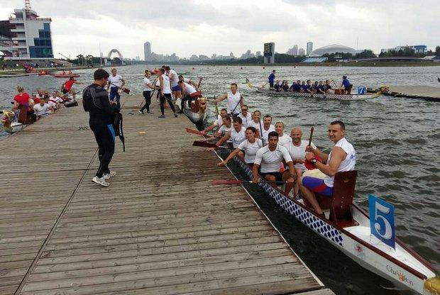 чемпионат россии на лодках дракон