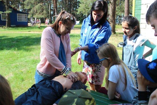 энергетики в лагере