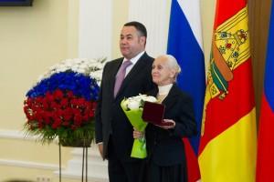 Игорь Руденя и Галина Лебедева