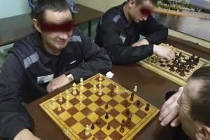 шахматный турнир в сизо-3