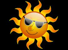 солнце-жара