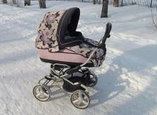 детская коляска-зима
