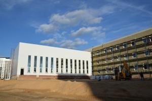 строительство школы-юность-1