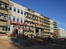 строительство школы-юность