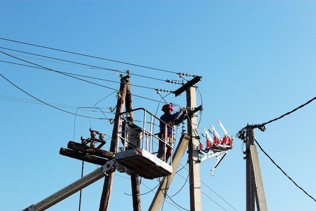 ремонт на линии электропередач
