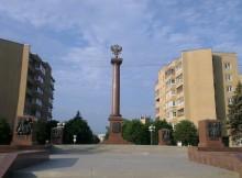 стела город воинской славы тверь