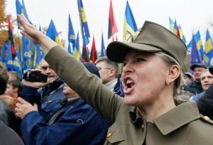 нацистка-украина