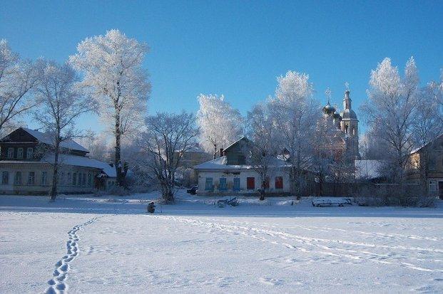 Осташков-зима