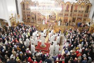 Пасха Воскресенский собор