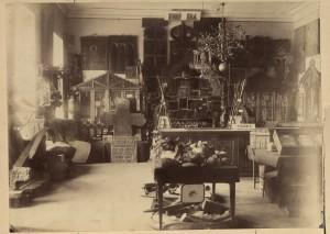 Церковный отдел музея. 1884 г.