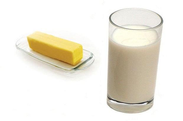 молоко масло