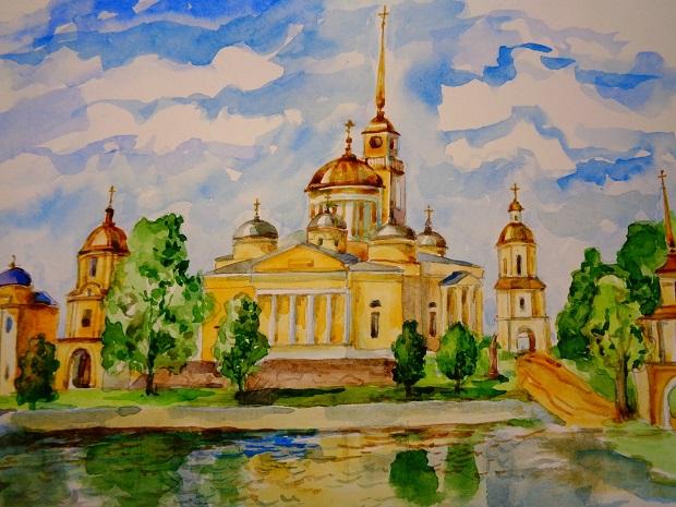 рисунок Надежды Архиповой