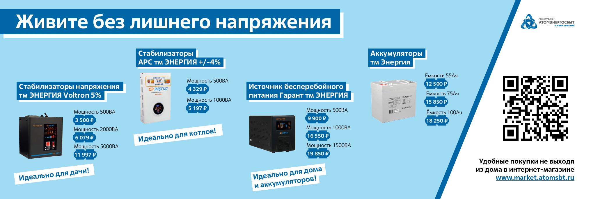 Стабилизаторы - Тверь 07.08.2020